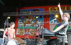 Matt & Kim at Siren Festival