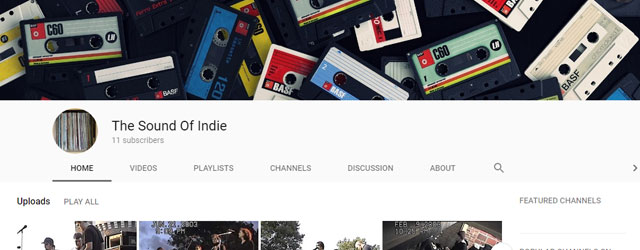 The Sound Of Indie | Your Source For Live and Rare Indie